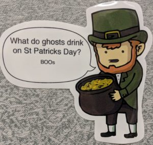 leprechaun ghost joke