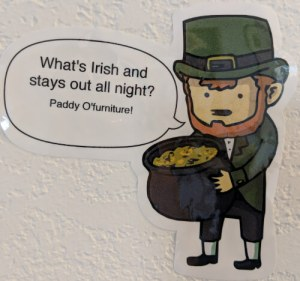 leprechaun paddy joke