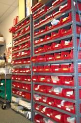 Sample label bins