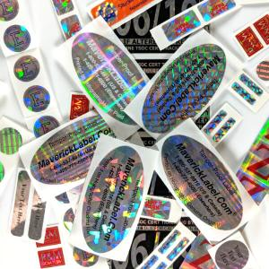 Sample holographic labels