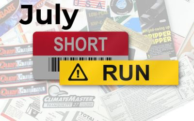 Short Run Stories for July