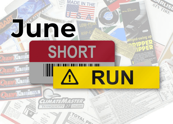 Short Run – June