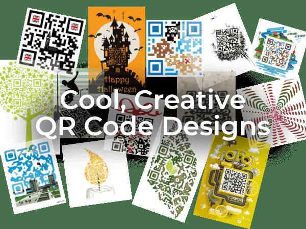 Cool, Creative QR Code Design