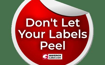 Stop Label Peel!