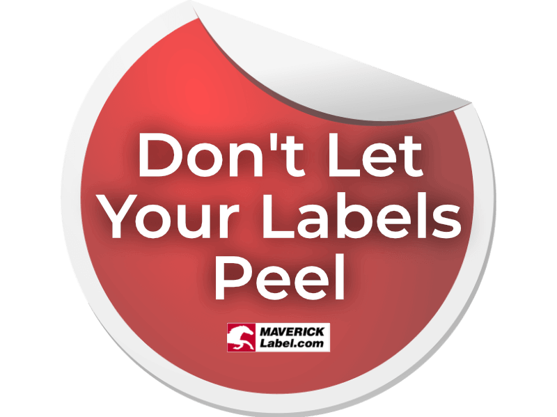 Stop Label Peel!