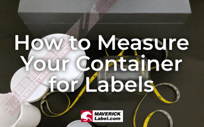 How to Measure Your Container for Labels