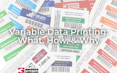 Variable Data Printing – What, How, Why
