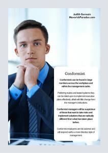 The Conformist Profile