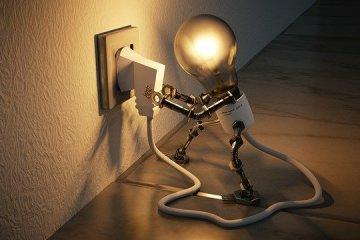 Luce lampadina idea
