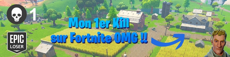 Je fais mon premier kill sur fortnite battle Royal - Ma vie de bambi