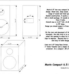 compact bookshelf speaker kit 6 5 woofer dome tweeter 8 ohms 125 watts amazing bass [ 2200 x 1700 Pixel ]