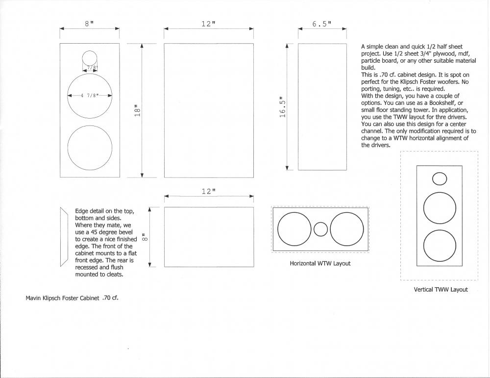 Klipsch Foster Samsung Bookshelf or Small Tower Kit