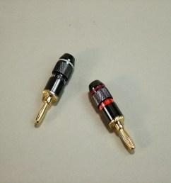 hq speaker banana plugs au pair [ 1000 x 800 Pixel ]