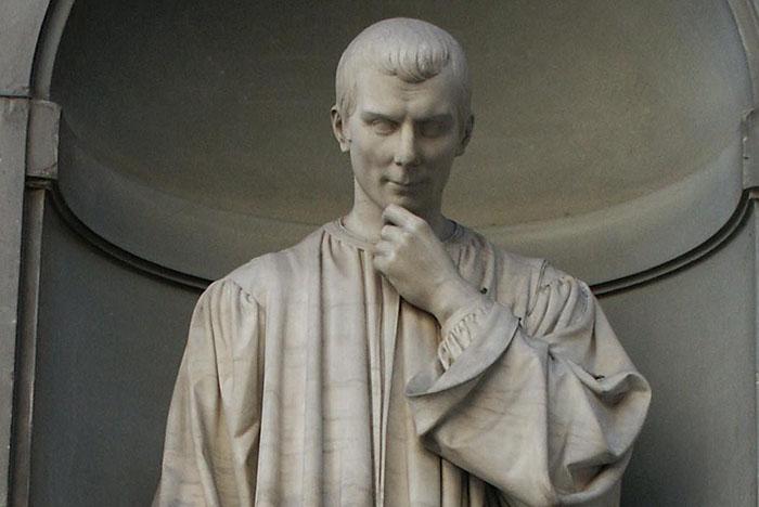 Obras de Maquiavelo, pensador moderno