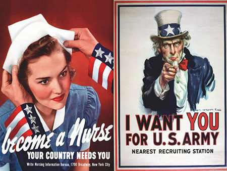 Propaganda de guerra USA en la segunda Guerra Mundial