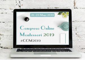 Cartel del Congreso Online Montessori 2019-formación montessori online