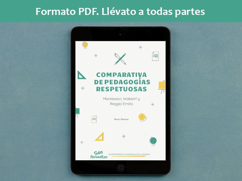 Comparativa de Pedagogías Respetuosas formato PDF