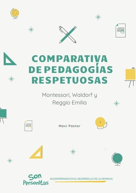 Portada Comparativa Pedagogías Respetuosas