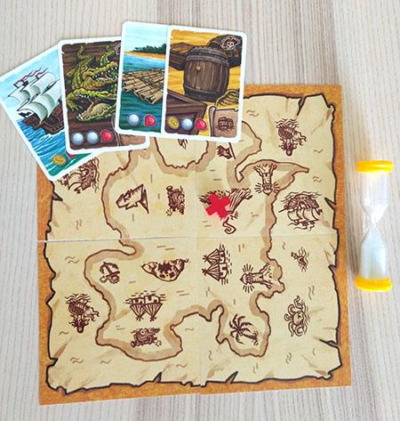 Juegos de mesa educativos: El mapa del pirata