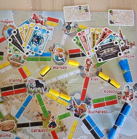 Viajeros al tren, juego de mesa educativo para aprender geografía
