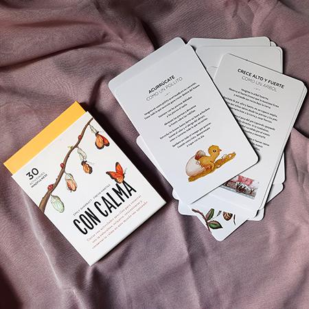 Recursos de mindfulness: cartas con calma