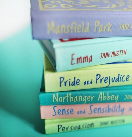 Colección de libros de Jane Austen