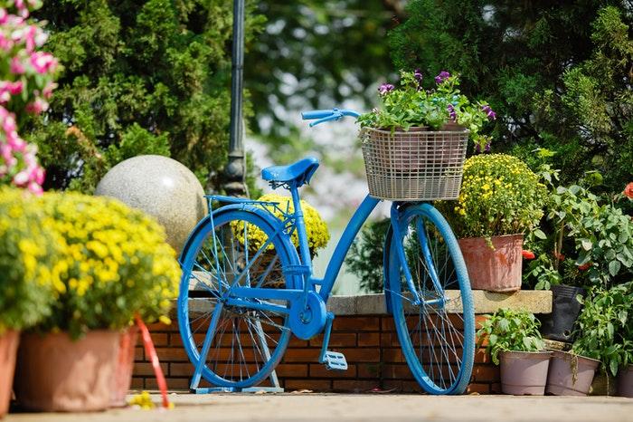 Bicicleta azul como ejemplo del uso de los sentidos en la novela feelgood