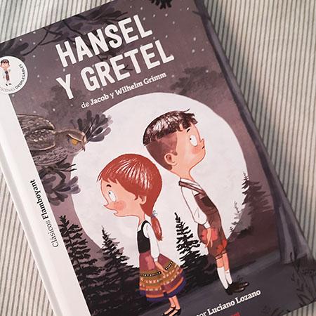 Hansel y Gretel- cuento en mayúsculas