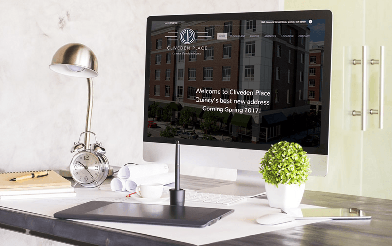Cliveden Place Website Design