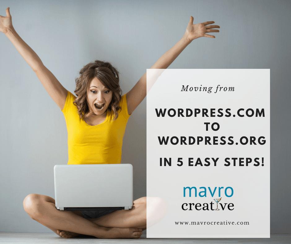 Moving WordPress.com to WordPress.org