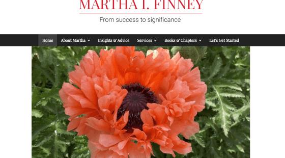 martha finney site