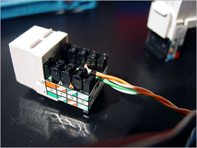 For A New Telephone Wiring Diagram For Installation How To Wire An Ethernet And Phone Jack Using A Single