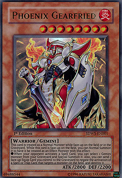 Phoenix Gearfried Warriors Strike Structure Decks