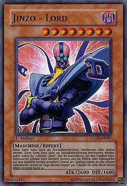 Jinzo Lord Light Of Destruction Boosterserien