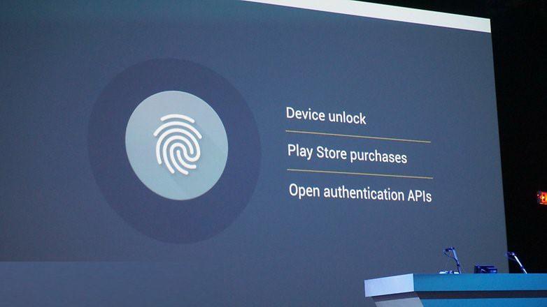 Android Marshmallow fingerprint