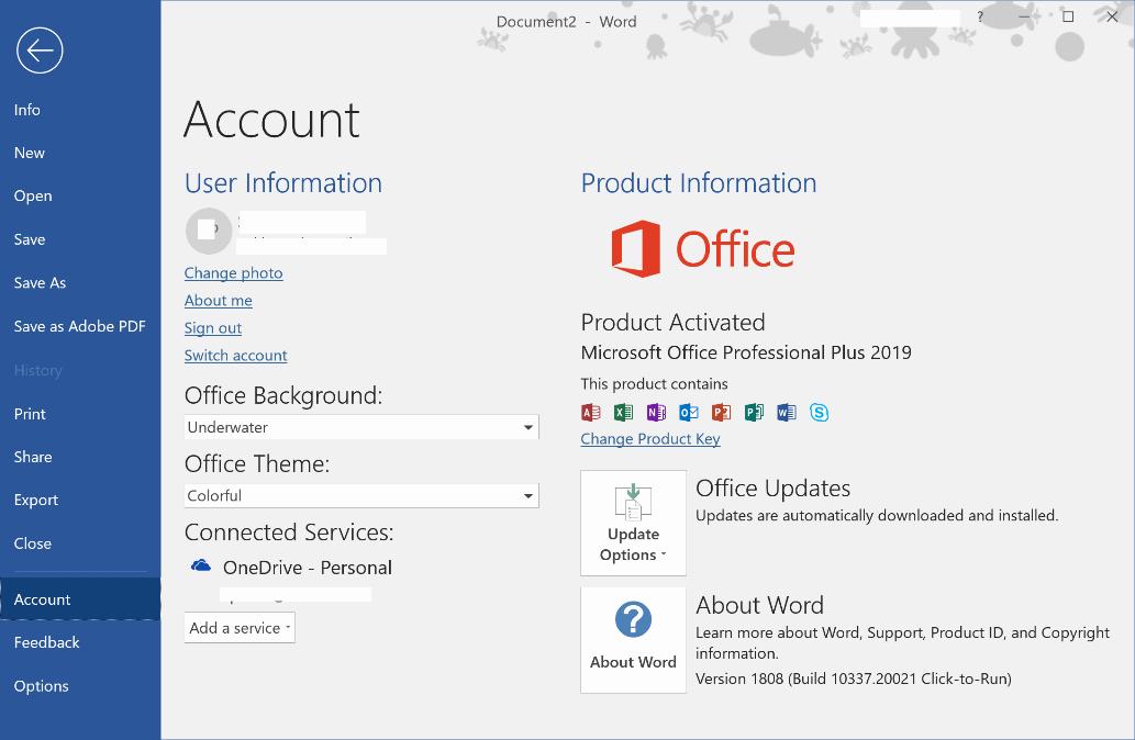Microsoft Office 2019 [Full] x86/x64 ถาวร ภาษาไทย วิธีติด