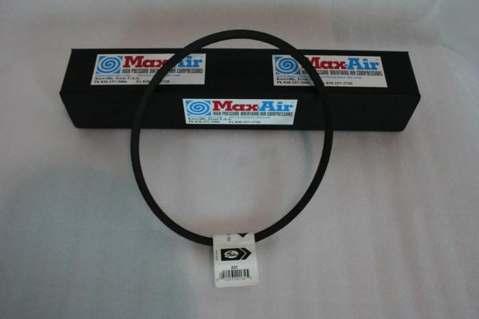 Drive Belt AX30 for Max-Air 35 E-1or E-3