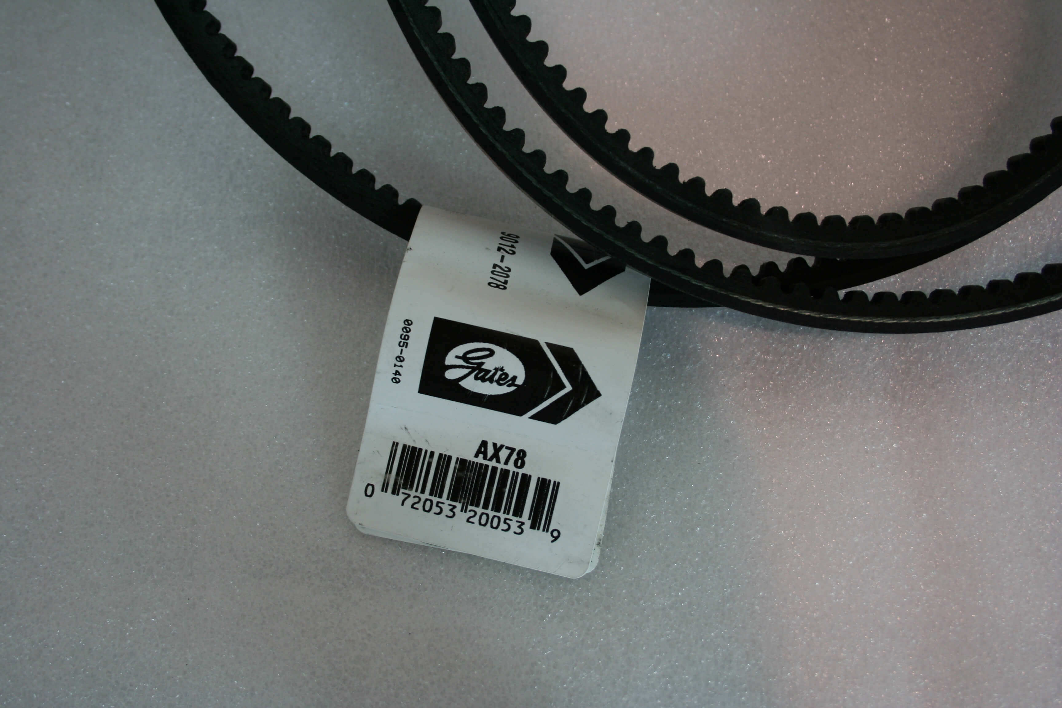 Drive Belt AX78 for Max Air 90 E1 or E3 Compressor