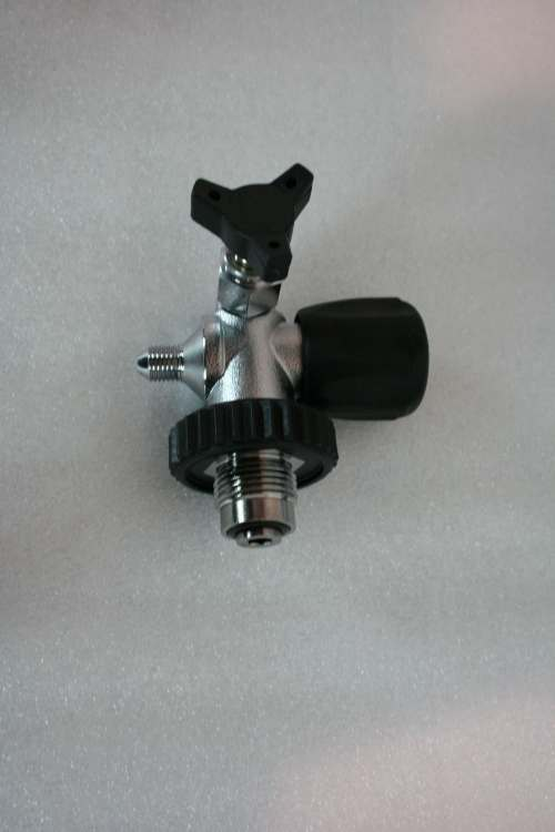 Max-Air American DIN 300 Fill Valve Black FV-1003D