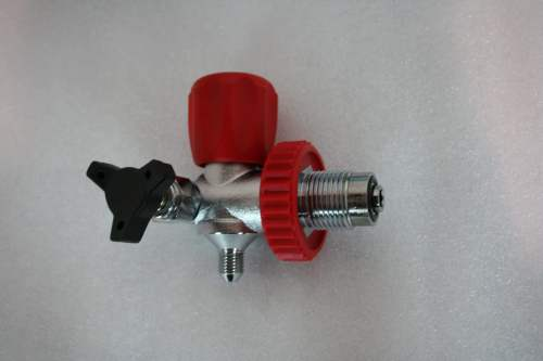 Max-Air American DIN 300 Fill Valve Red FV-1003D