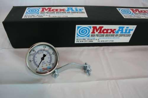 Max-Air Pressure Gauge PG-200 Back