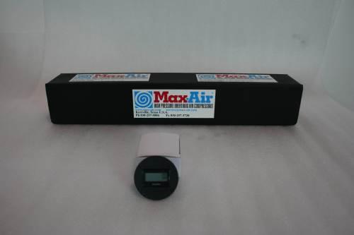 Max-Air Anti-Vibration HR Meter MA-201 D