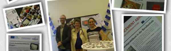 Das Max-Weber-Berufskolleg feiert den Europatag 2015 im Düsseldorfer Rathaus