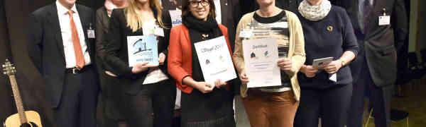 """Verleihung des SIEGELS """"berufs- und ausbildungsfreundliche Schule"""