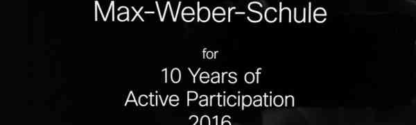 Auszeichnung für Cisco Networking Academy Programm