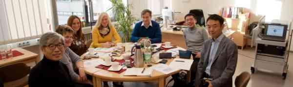 Besuch 訪問 aus Japan 日本 am Max-Weber-Berufskolleg