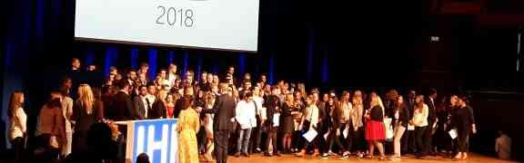 IHK – Bestenehrung 2018 – Auch diesmal wurden  Schülerinnen und Schüler des Max-Weber-Berufskolleg ausgezeichnet