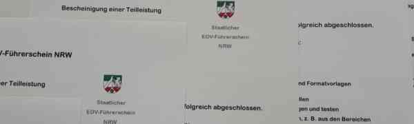 Übergabe der EDV-Führerscheine am #MWBK