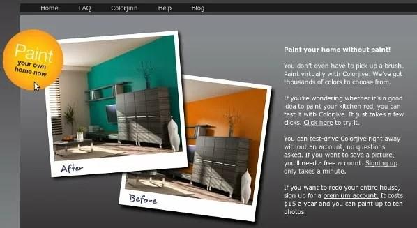 Una nuovissima applicazione per tablet semplice e intuitiva che permette di scegliere i colori, creare abbinamenti e vederli applicati sulle pareti di casa. Dipingere Le Pareti Di Casa Virtualmente Online