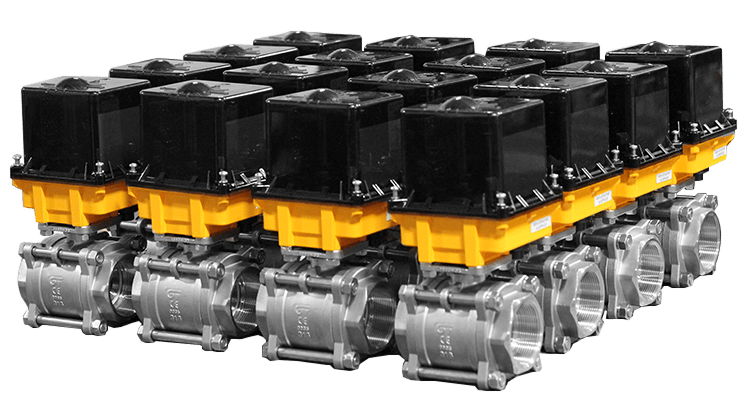Direct Mount Electric Ball Valve Assemblies | Max-Air Technology